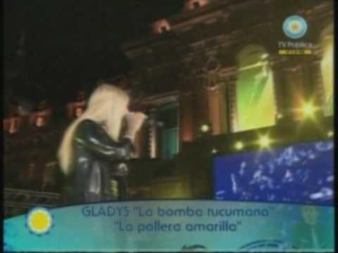 www.tucumanalas7.com.ar: Gladys ´La Bomba Tucumana´ - recital 9 de Julio - Mi pollera amarilla