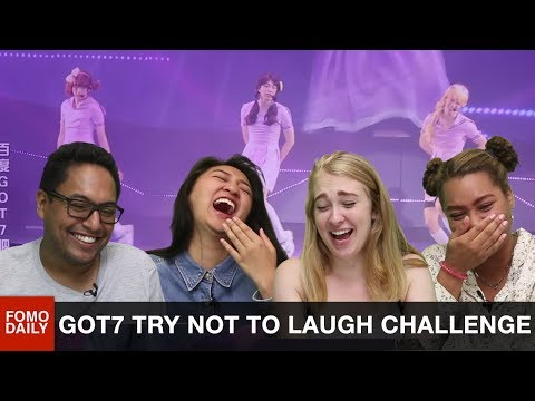 GoT7 Try Not To Laugh Challenge • Fomo Daily Reacts