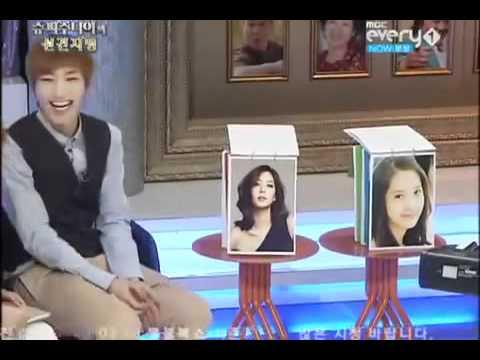 Donghae elige el tipo ideal de Leeteuk [Sub español]