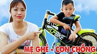Trò Chơi Mẹ Ghẻ Con Chồng - Dì Không Mua Xe Cho Con - Bé Nhím TV - Đồ Chơi Trẻ Em Thiếu Nhi