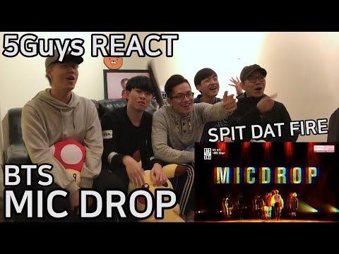 [TRASH FANBOYS] BTS (방탄소년단) - MIC DROP (5Guys REACT)