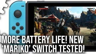 The New Nintendo Switch Review: 'Mariko' Tegra X1 Tested In Depth!