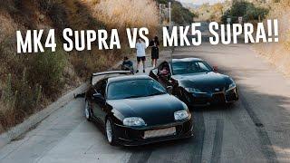 INSANE 2020 SUPRA SHOOT | 2020 Supra vs 90's JDM Supra