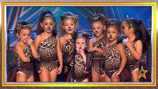 Bailando, estas niñas se coronan como reinas de la selva   Audiciones 1   Got Talent España 2019