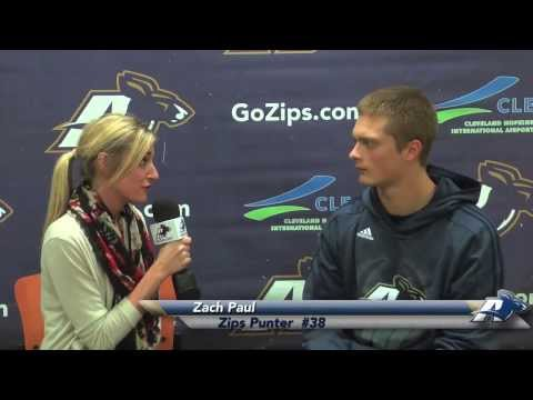 Zips Football with Terry Bowden - Zach Paul Feature - YouTube