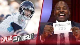 Ryan Tannehill is looking like a franchise QB right now — Marcellus Wiley | NFL | SPEAK FOR YOURSELF