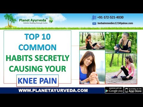 Top 10 Common Habits That Cause Knee Pain