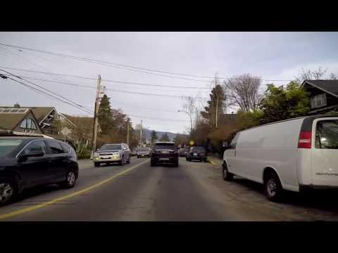 Life in Vancouver - Kitsilano - Explore BC (British Columbia) Canada - Driving Around
