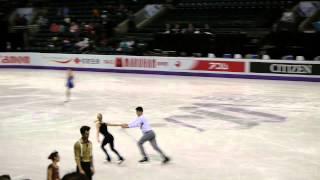 2013 WORLDS Tatiana VOLOSOZHAR / Maxim TRANKOV SP PRACTICE