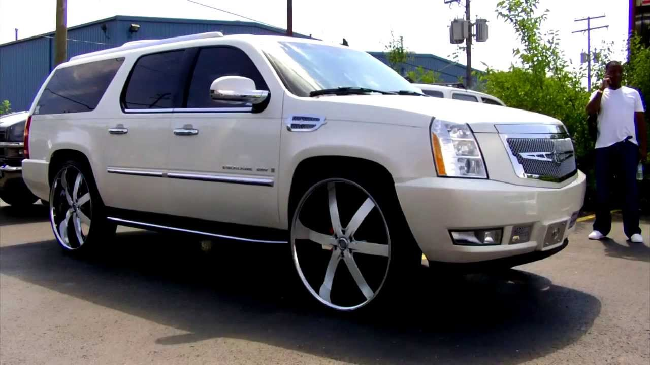 Cadillac Escalade Esv On 30 S Youtube