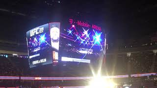 Carlos Condit UFC 219 Live walkout NBK Sin City last card to ring in the new year
