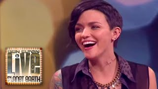 Elaine Front Interviews Ruby Rose (Orange Is The New Black)
