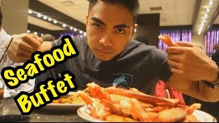 Heart Attack Seafood Buffet Challenge!