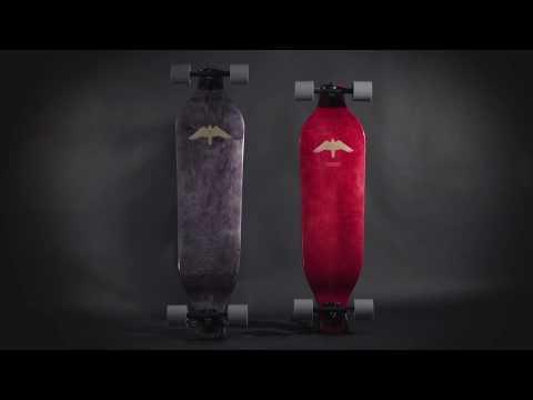 Video LANDYACHTZ Longboard Complete Evo 36 Spectrum Multi
