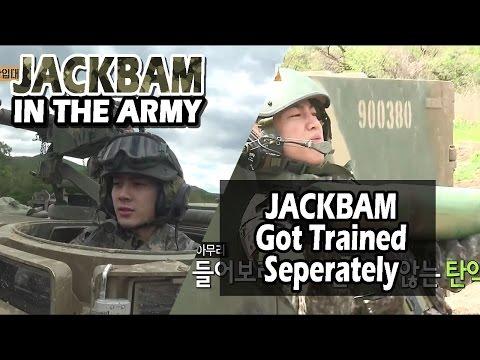 [Real men] 진짜 사나이 - JACKBAM Hard Got Training For Artillery 20160626