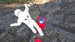 GTA 5 SPIDERMAN vs IRON MAN Ragdolls Compilation #4 (Jumps,Falls,Fails) Superheroes