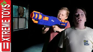 Granny is in Our House! Sneak Attack Squad Vs Granny Nerf Battle