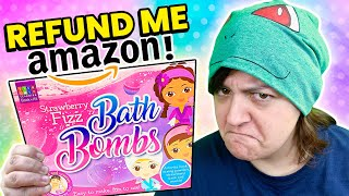 The Worst Amazon Bath Bombs Craft Kits Cash or Trash?