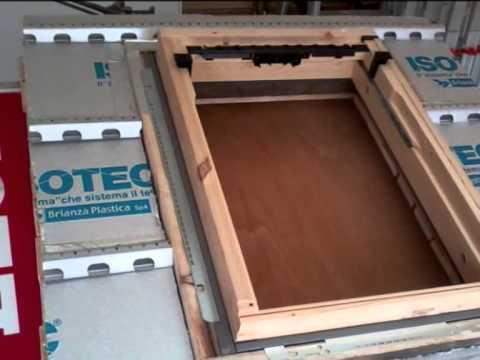Edilgamma montaggio finestra velux youtube for Velux tetto in legno