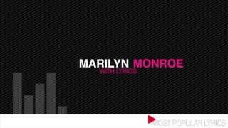 Pharrell Williams - Marilyn Monroe (with lyrics)