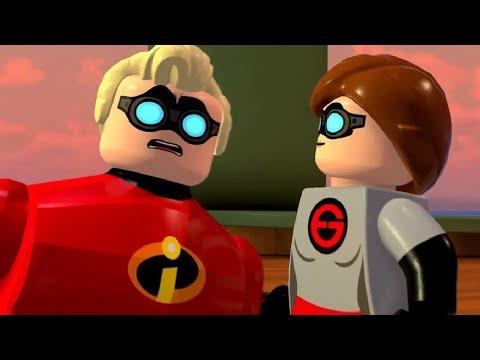 Incredibles 2 Full Game Walkthrough (LEGO The Incredibles)