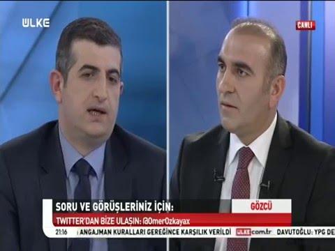 Haluk Bayraktar - Ülke Tv Canlı Yayın (Gözcü Programı) - 14 Şubat 2016