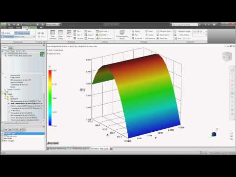 Design Optimization - Autodesk Moldflow 2012