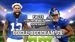 20 AWESOME Facts You Probably Didn't Know About Odell Beckham Jr