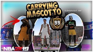 GRINDING DF + DAT BOI SAVE a 99 FROM EMBARASSMENT on NBA 2K19