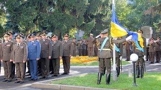 Урочиста церемонія підняття Державного Прапора у Міністерстві оборони України