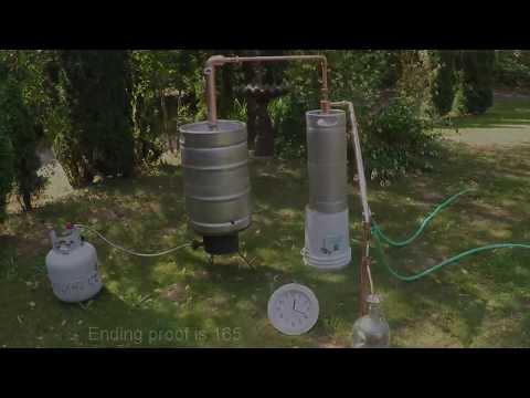 Beer Keg distiller moonshine still and alcohol distiller from Mile Hi ...
