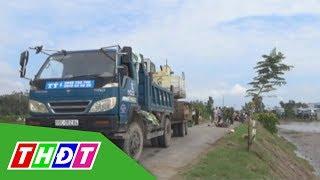 Hồng Ngự: Hai mẹ con tử vong vì va chạm với xe tải rơ-móc | THDT - YouTube