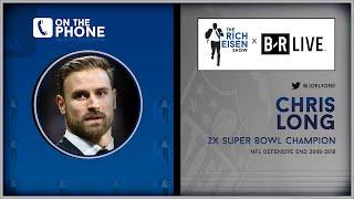 Chris Long Talks Retirement, AB's Helmet, Wentz & More w/Rich Eisen | Full Interview | 8/20/19