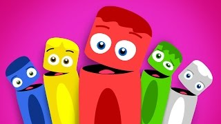 Colores en Español para niños | La Pandilla de Colores - Volumen 3 | 30 minutos