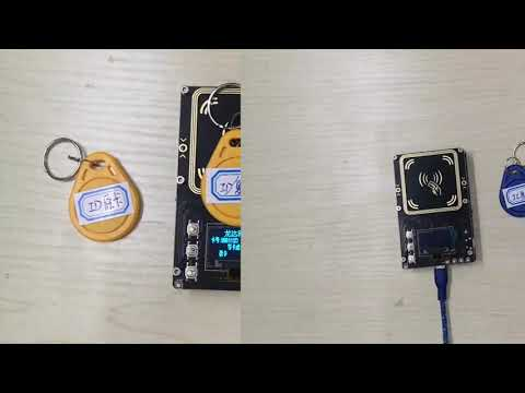 Cloning and ID Full Frequency Card and RFID Card with Proxmark3