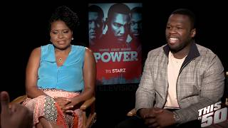 """50 Cent Explains Where """"Get The Strap"""" Comes From   POWER"""