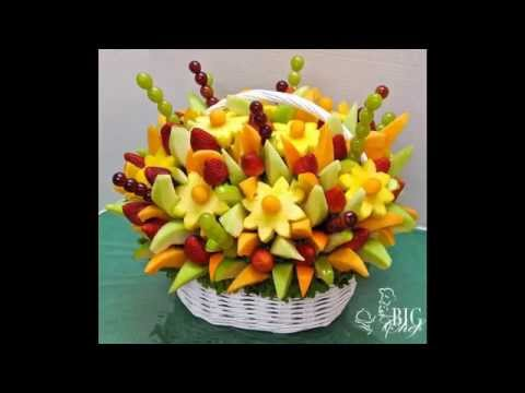 Big Chef: Arranjos Florais com Frutas e Legumes