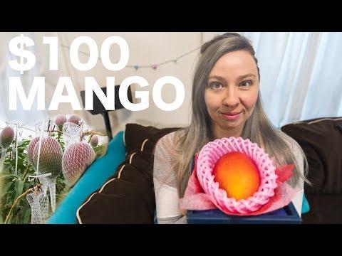 What Does a $100 Japanese Mango Taste Like?