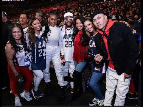 LA Clippers Filipino Halftime f. Apl.de.ap, Jessica Reynoso, Liane V., Jasmine V. & Jules Aurora