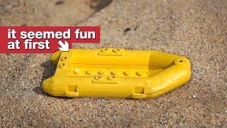 The Beach Where Lego Keeps Washing Up