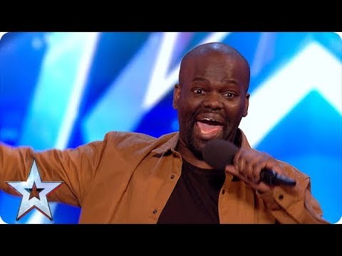 Hilarious comedian has the BGT Judges in stitches   Unforgettable auditions on Britain's Got Talent