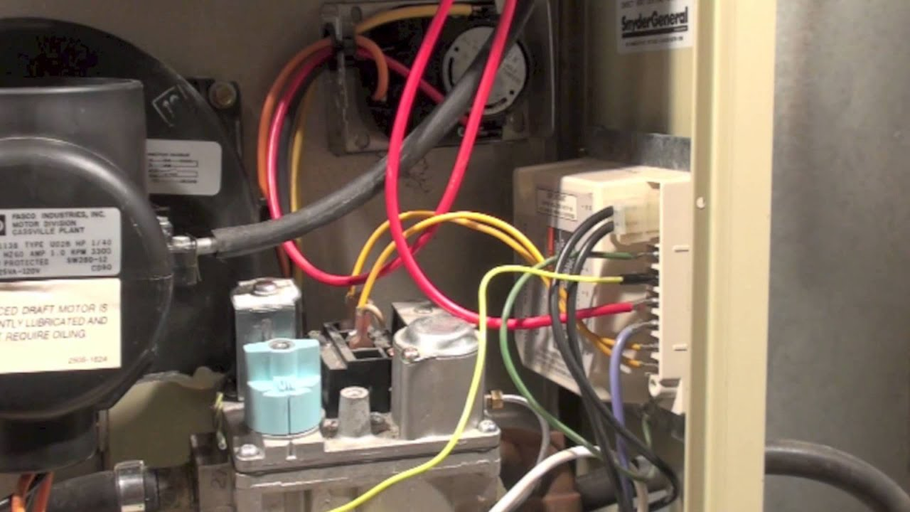 Common Failures Snyder General Gua Furnace Youtube