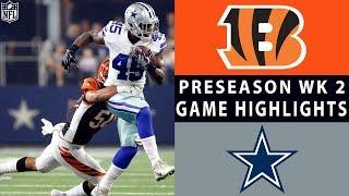 Bengals vs. Cowboys Highlights | NFL 2018 Preseason Week 2