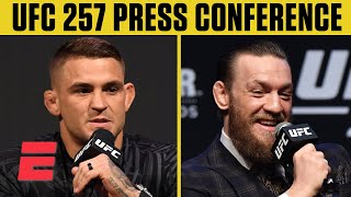 UFC 257: Dustin Poirier vs. Conor McGregor 2 Press Conference | ESPN MMA