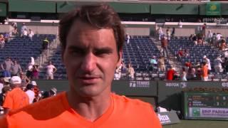 2015 Roger Federer Final Interview