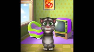 [My Talking Tom] Crazy cat singing let it go
