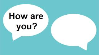 Learn English - Lesson #41: Hi, How are you? - Pronunciation