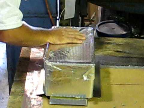How To Make An A C Duct Box Youtube