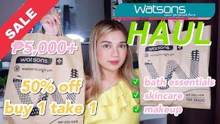 MY BIGGEST WATSON HAUL EVER! WORTH ₱5,000+♥️ | MAY 2019