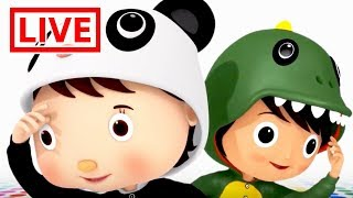TRAIN SONG - Little Baby Bum Live 🔴  Shape Songs   Shapes, Colors + MORE   Nursery Rhymes for Babies